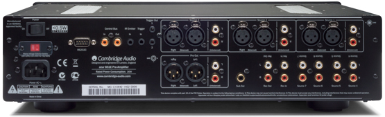 Cambridge Audio Azur 851A Sztereo integralt erosito back