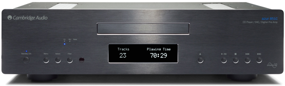 Cambridge Audio Azur 851C CD Lejatszo header front