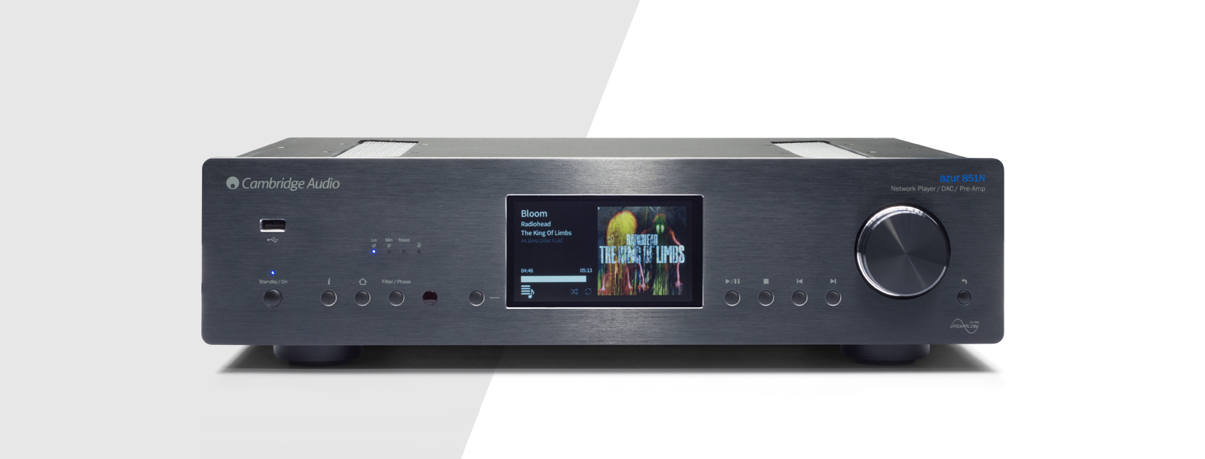 Cambridge Audio Azur 851N halozati lejatszo es dac header