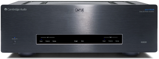 Cambridge Audio Azur 851W HIGH END sztereo vegfok front