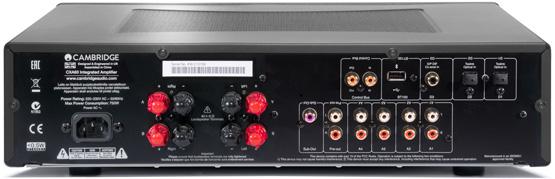 Cambridge Audio CXA60 Sztereo Integralt Erosito es DAC back