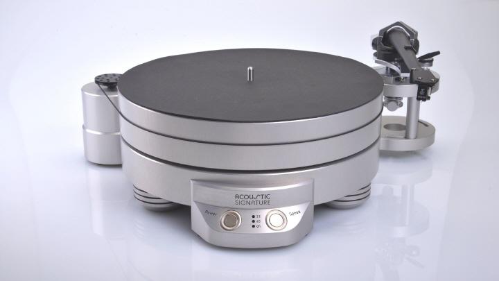 Acoustic Signature Challenger MKIII High END Analóg Lemezjátszó 2