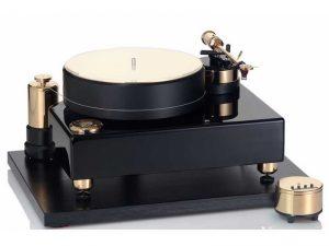 Acoustic Solid Wood Reference Black lemezjátszó