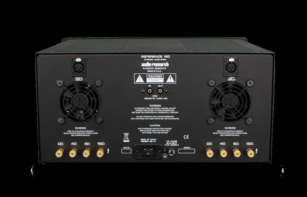 Audio Research Reference 150 SE sztereó végerősítő 1