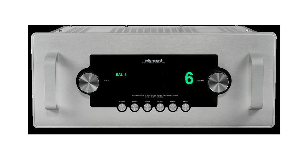 Audio Research Reference 6 csöves sztereó előerősítő 2