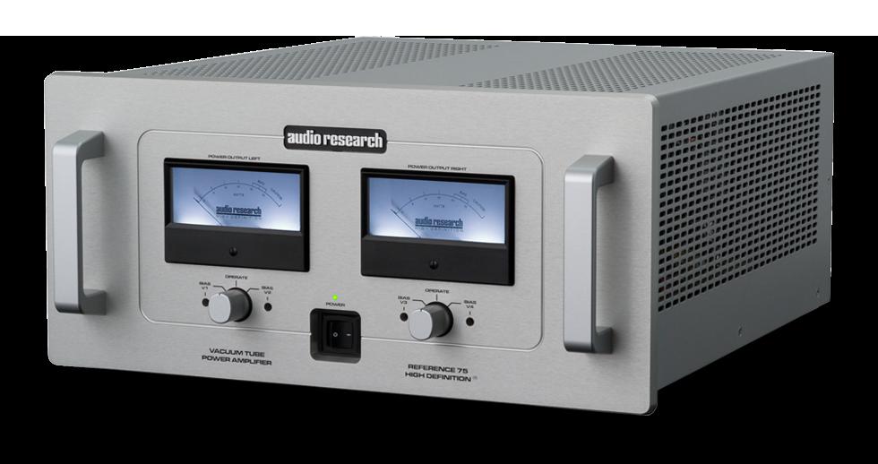 Audio Research Reference 75 SE csöves sztereó végerősítő 1